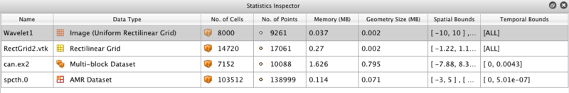 ParaView UG Statistics inspector.png