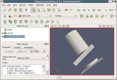 Python Programmable Filter - KitwarePublic